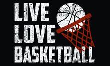 Basketball T Shirt Design For Basketball Lovers In Illustration, Eps_10.