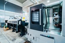 Manufacturing Equipment At Workshop