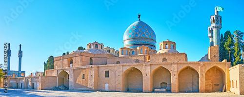 Fotografia The medieval Shah Nematollah Vali Shrine, Mahan, Iran