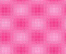 Positively Pink Polka Dots. Mini Dot Seamless Repeating Pattern For Textiles, Apparel, Gift Wrap, Paper Products And More.  EPS File Has Pattern Swatch Tile And Global Colors For Easy Color Changes.
