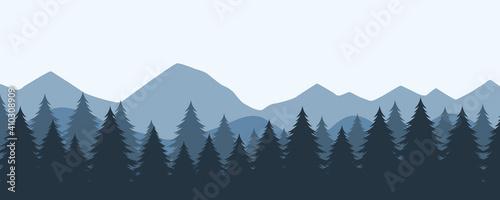Obraz na plátne Bosque frío