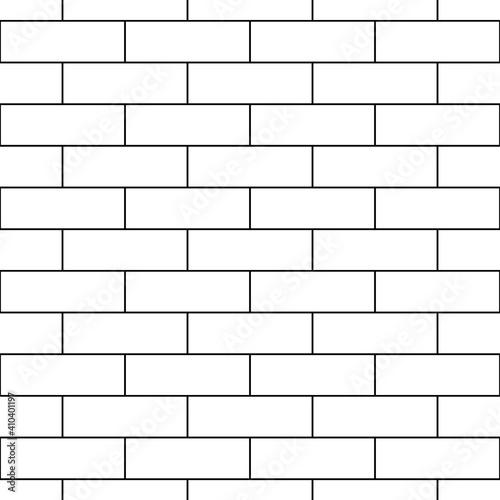 Fotografie, Obraz Seamless brickwall pattern