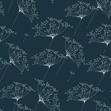 Queen Anne's Lace Plant Pattern