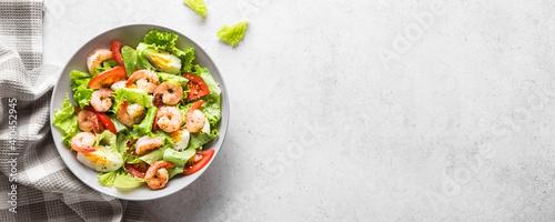 Obraz na plátně Shrimp Salad