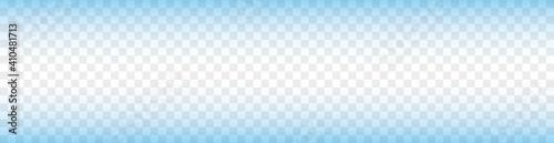 Fotografie, Obraz vector blue gradient bacground on transparent background