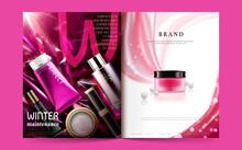 Cosmetic Magazine Template