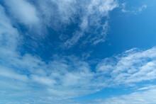 Cielo Con Nubes Azul