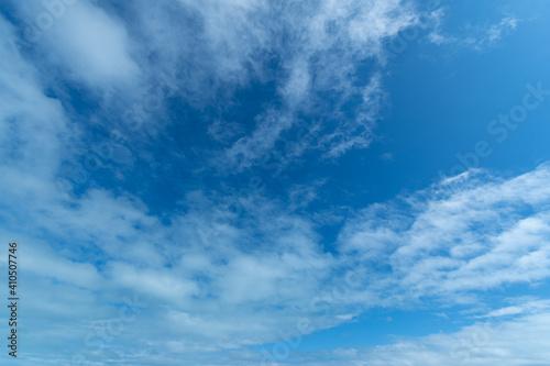 Fotografie, Obraz Cielo con nubes azul