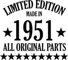 Llimited Edition 1951