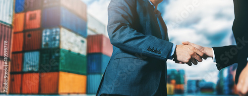 export and import business Fototapeta