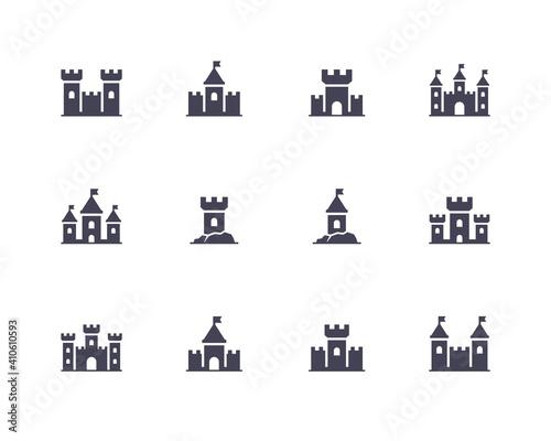 Fotografia Castle icons.