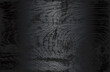 Luxury black metal gradient background with distressed wooden parquet texture. Vector illustration