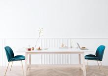 Modern Breakfast Table