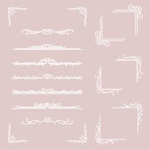 装飾 フレーム 素材 / Vector Eps