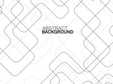 Abstract Technology Background With Communication Lines. Vector Illustration