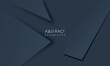 Dark Blue Geometric Abstract Texture. Modern Abstract Backgrounds Are Perfect For Covers, Book Designs, Posters, Flyers, Website Backgrounds, Etc.