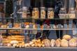 variety of bread at market