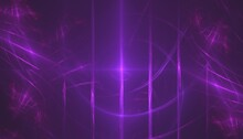 Abstract Purple Background With Lines Computer Generated Background