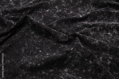 Obraz Grey pattern. Grey fabric texture. - fototapety do salonu