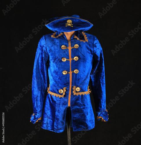 Fotografia, Obraz blue pirate camisole on a mannequin
