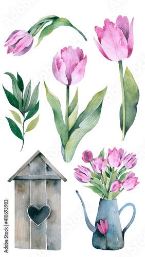 Gardening spring set Fototapet