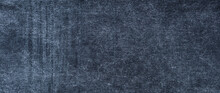 Texture Of Dark  Blue Jeans Denim Fabric Background
