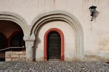 Würzburg, Festung Marienberg, Doppelbogen
