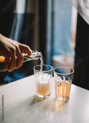 Photo company , spring sparkle drink