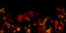 Der Drache - Atmosphärische Farbwolken Explosion Cosmos Splash Hintergrund Flyer Vorlage Hellblau Grunge