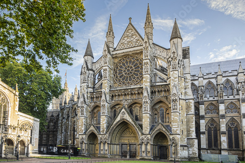 Westminster Abbey (The Collegiate Church of St Peter at Westminster) - Gothic church in City of Westminster, London Fototapeta