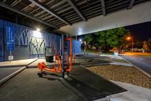 Brisbane, Australia - Outdoor Gym Under The Bridge