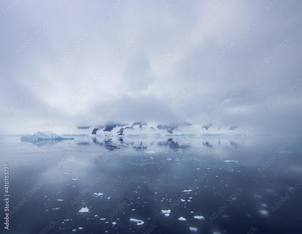Fototapeta Scenic View Of Landscape Against Sky During Winter