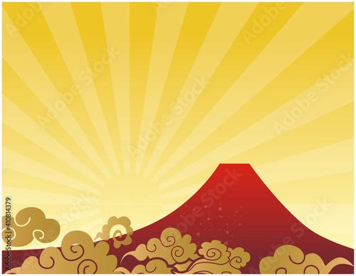 Slika na platnu 富士山が見える風景