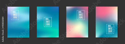 Abstract blurred gradient background Fototapete