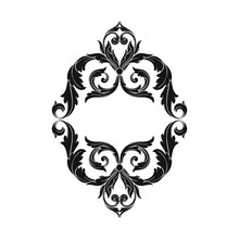 Retro Element Collection For Calligraphic Design | Premium Quality, Satisfaction Guarantee, Genuine Frames And Labels