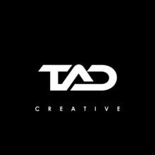 TAD Letter Initial Logo Design Template Vector Illustration