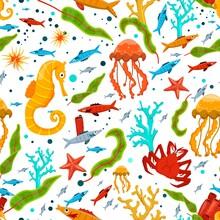Undersea Seamless Pattern