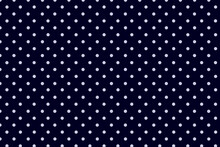 Polka Dots Patterns On Navy Blue Background