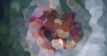 Sfondi Digitali Pittorici Stile Pennellate Colore A Olio O Van Gogh Con Colori Caldi E Freddi