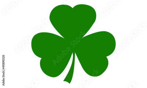 Fototapeta Shamrock St Patrick's Day Vector and Clip Art