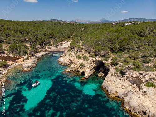 Cuadros en Lienzo Cala Cap Falcó, Calvia, Mallorca, Balearic Islands, Spain