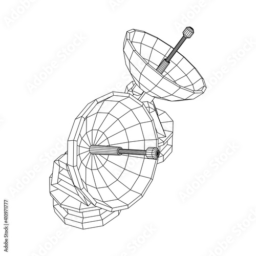 Canvas-taulu Radar