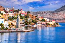 Symi Island, Rhodes - Greek Islands