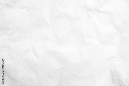 Obraz white wrinkle recycle paper background - fototapety do salonu