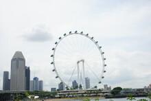 Singapore Flyer, Ferris Wheel, In Singapore - シンガポール フライヤー 観覧車
