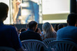 canvas print picture - Open Air Kino