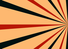 Retro Style Sunburst Background Design.