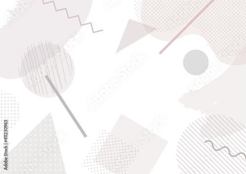 Tela 幾何学図形のPOPな背景