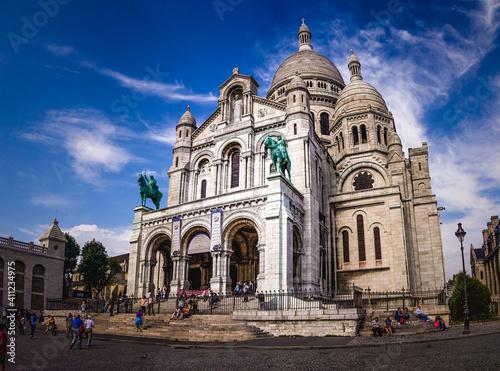 Basilica Sacre Coeur Fototapet