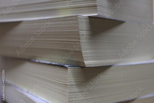 Ein Stapel Bücher Querformat Wallpaper Mural